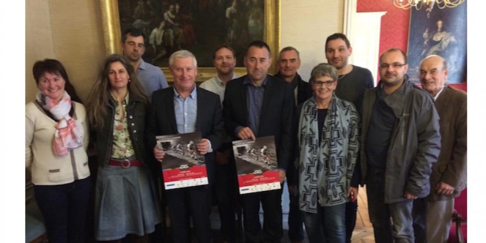 Conférence de presse pour le Paris Roubaix