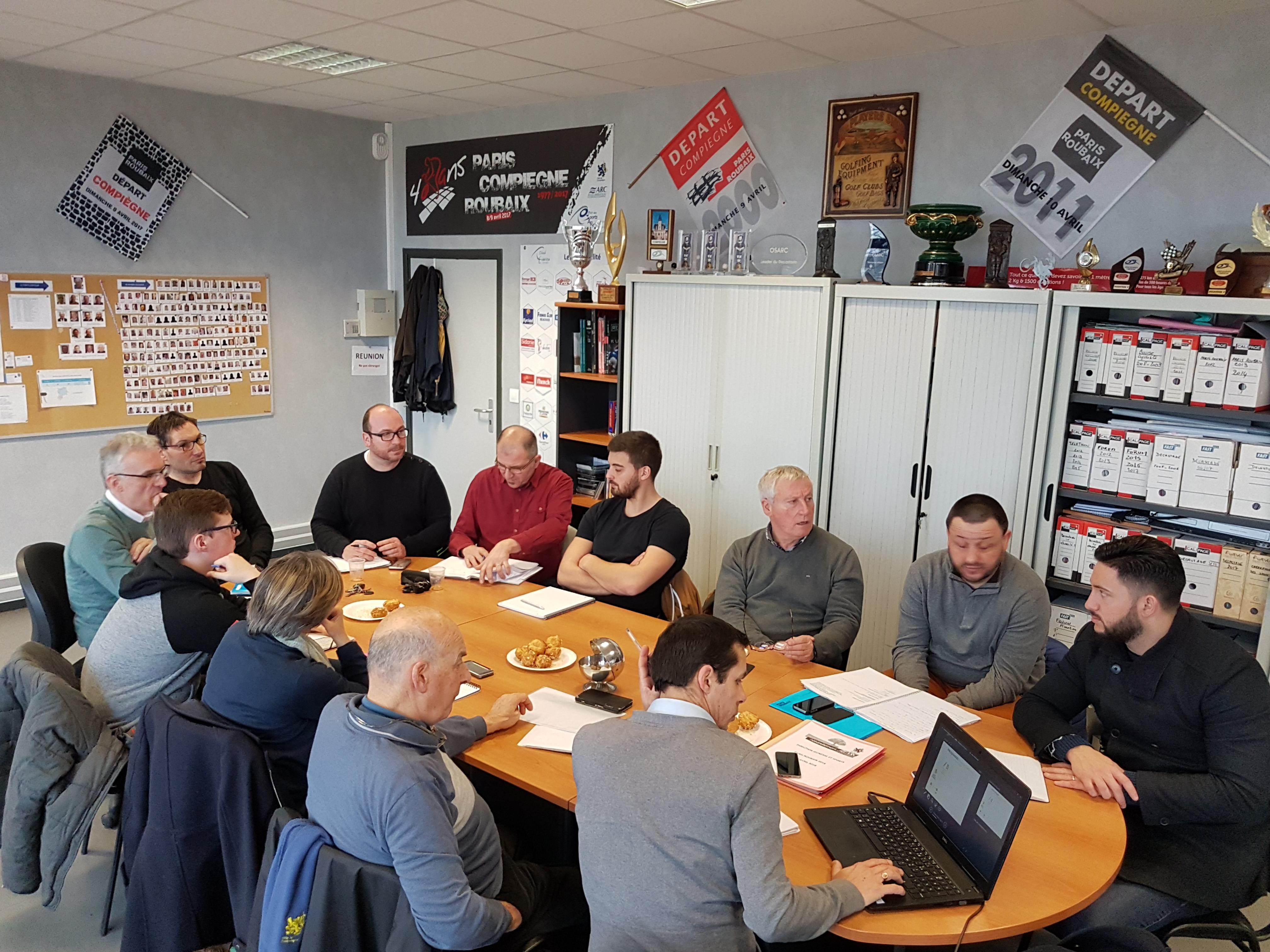 L'OSARC prépare le salon de Paris-Roubaix