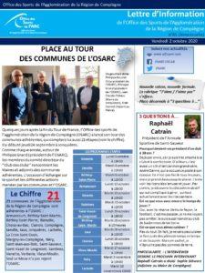 Lettre d'info OSARC 85